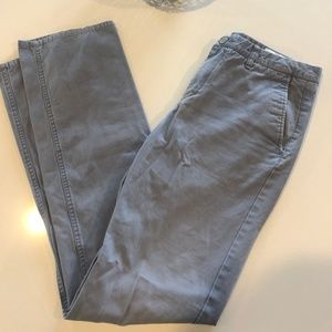 """Bonobos Chino Khaki Style Pants Grey 33"""" W x 36"""" L"""